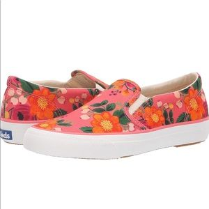 Rifle Paper Co Keds Slip Ons